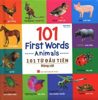 101 Từ Đầu Tiên - Động Vật - MiLoKids