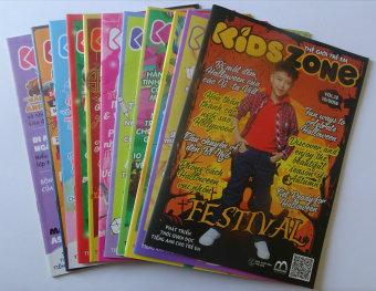 Bộ 11 Cuốn Kidszone - Thế Giới Trẻ Em