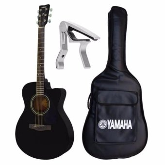 Đàn guitar acoustic khuyết Yamaha FS100C(màu đen)+ Bao 3 lớp+ Capo