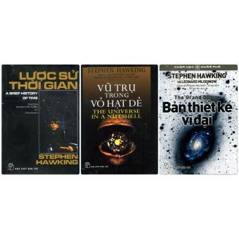 Combo 3 Cuốn Sách Của Tác Giả Stephen Hawking