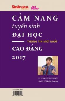 Cẩm Nang Tuyển Sinh Đại Học - Cao Đẳng 2017 - Lê Thẩm Dương