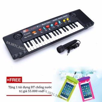 Đàn Piano cho bé Mq3700 có Micro + Tặng túi đựng điện thoại chống nước