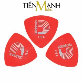 Combo 3 móng gẩy dày 0.5mm D'Addario Pick chính hãng 2DRD1 (Cho Đàn Guitar, Ukulele, Mandolin, Nguyệt...)