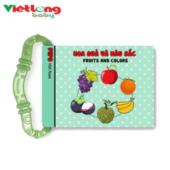 Sách vải gặm nướu trẻ em Pipo Vietnam hình hoa quả