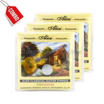 Combo 4 Bộ dây A106 cho đàn guitar Classic