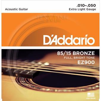 Bộ Dây Đàn Guitar Acoustic D'Addario EZ900
