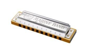 Kèn harmonica Marineband M189693(Key C) (Bạc)