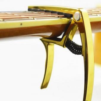 Capo guitar Alice A007K/GD (Vàng) + Tặng 1 miếng gảy guitar