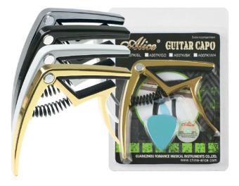 Mua Capo guitar Alice A007K/GD (Vàng) + Tặng 1 miếng gảy guitar giá tốt nhất