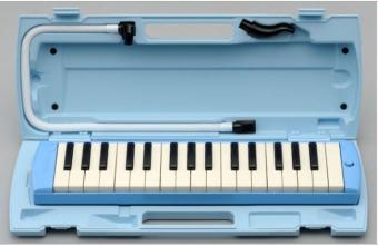 Kèn Pianica Yamaha P-32D (Xanh dương nhạt)