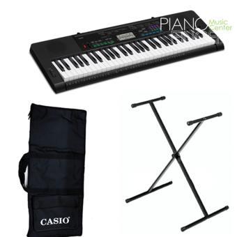 Organ Casio CTK-3400+ Chân X đơn+ Bao đàn