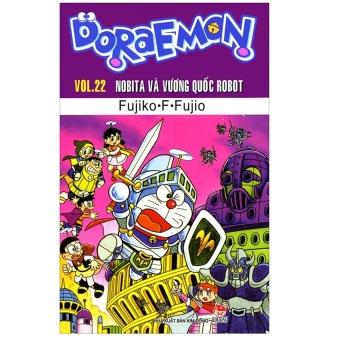 Doraemon - Vol. 22: Nobita Và Vương Quốc Robot (Tái Bản 2015)