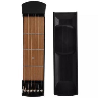 Đàn guitar mini mẫu mới 2017 nhỏ gọn chỉ 20cm (Đen)