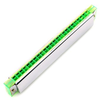 Kèn harmonica tremolo Swan key C SW23 (Bạc)