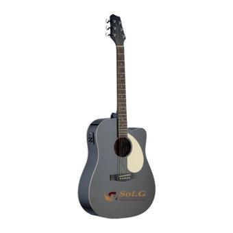 Đàn guitar acoustic Stagg SA30DCEBK
