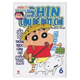 Shin - Cậu Bé Bút Chì (Tập 6 - Phiên bản hoạt hình màu) - Yoshito Usui