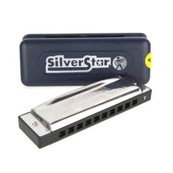 Kèn harmonica Hohner Diatonic Silver Star M50401 (Key C)