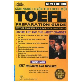 Cẩm Nang Luyện Thi TOEFL Mới (Kèm 3 CD)