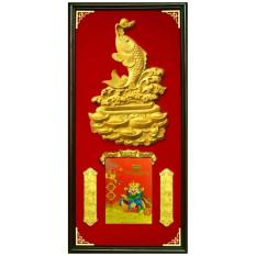 Mua Lịch khung gỗ treo tường Kim Ngưu Phú Qúy