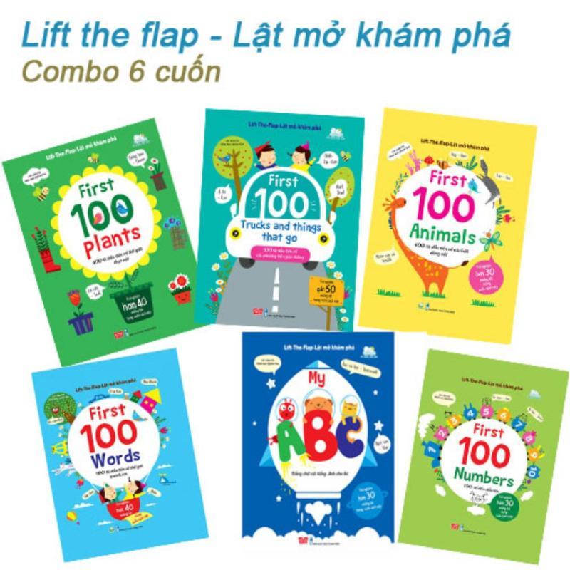 Mua Lift the flap (Lật mở khám phá) Combo 6 cuốn - 900k