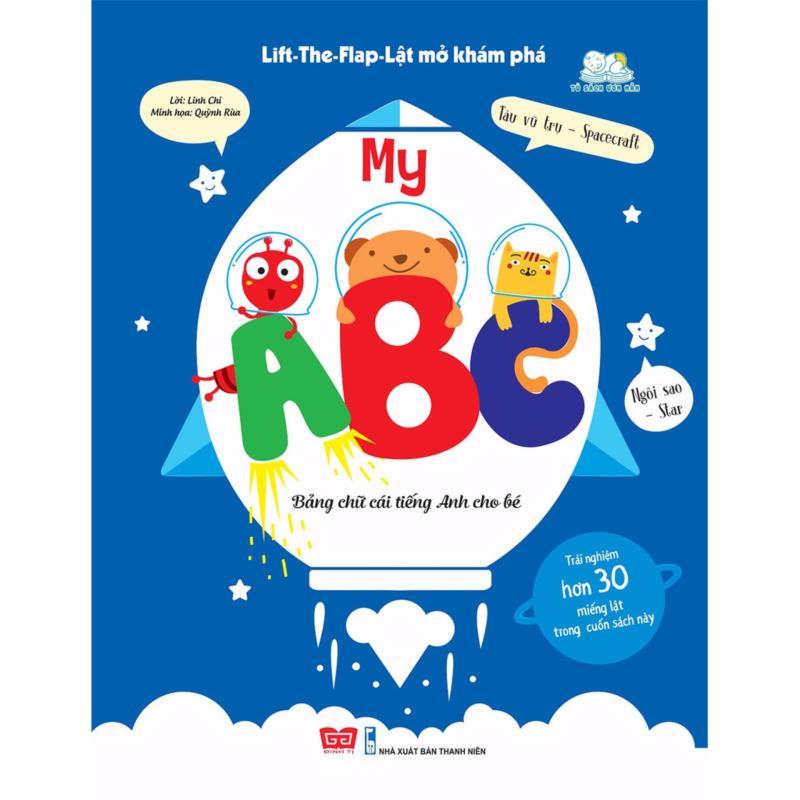 Mua Lift-The-Flap-Lật mở khám phá - My ABC - Bảng chữ cái Tiếng Anh cho bé
