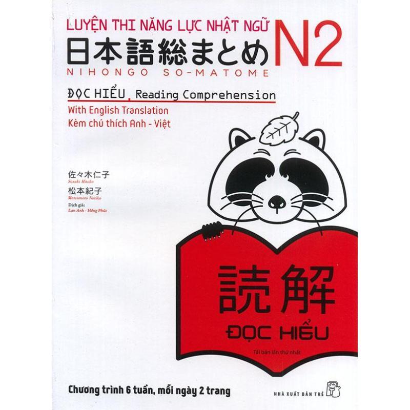 Mua Luyện thi năng lực Nhật ngữ N2 - Đọc hiểu