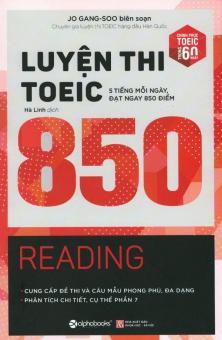 Luyện Thi TOEIC 850 - Reading - Jo Gang-Soo,Hà Linh