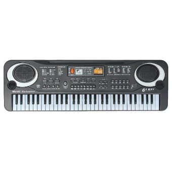 Media, Music Books Digital Pianos 61 Keys Digital Music Electronic Keyboard Key Board Gift Electric Piano Organ - intl