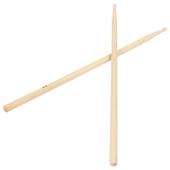 Media, Music Books Marching Percussion Accessories 1 Pair 7A Practical Maple Wood Drum Sticks Drumsticks Music Band Accessories - intl