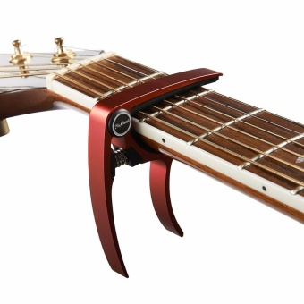 Meideal MC20 Aluminum Alloy Capo Clamp For Acoustic Electric Guitar RD - intl