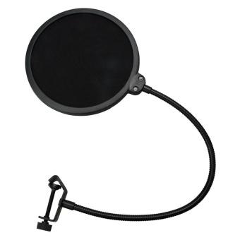 Microphone Acoustic Filter Pop Filter Black - intl