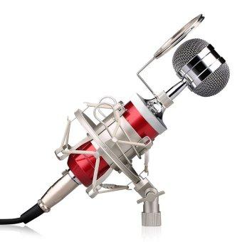 Miimall BM-8000 Professional Condenser Sound Studio RecordingBroadcasting Microphone with Shock Mount Kit(Red) - intl - 8265225 , MI446MEAA6339TVNAMZ-11197379 , 224_MI446MEAA6339TVNAMZ-11197379 , 1128000 , Miimall-BM-8000-Professional-Condenser-Sound-Studio-RecordingBroadcasting-Microphone-with-Shock-Mount-KitRed-intl-224_MI446MEAA6339TVNAMZ-11197379 , lazada.vn , Mii