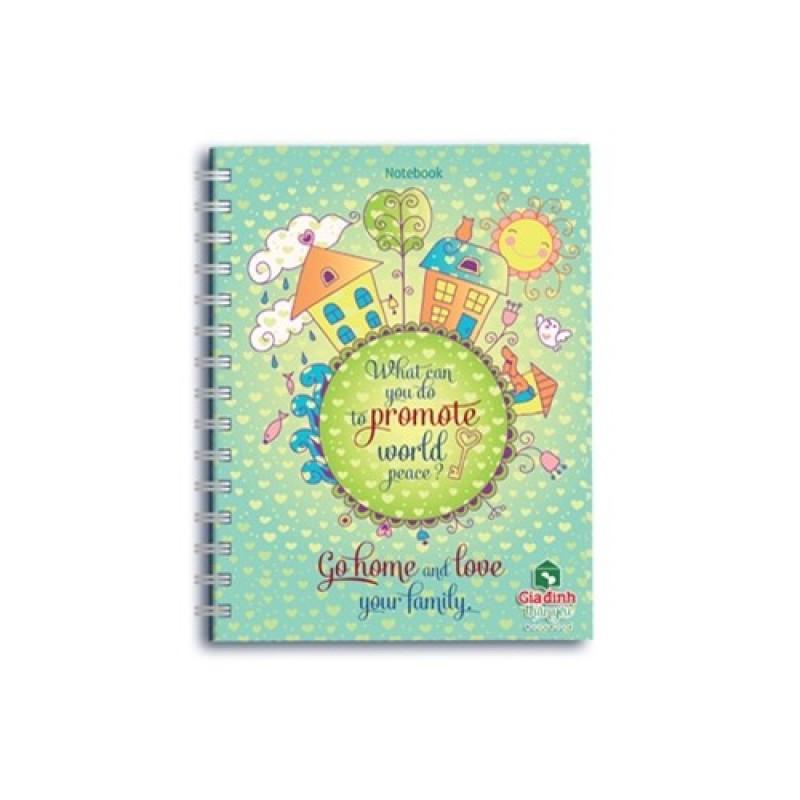 Mua Notebook: Gia đình thân yêu - Go home and love your family (GDDTY - 01)