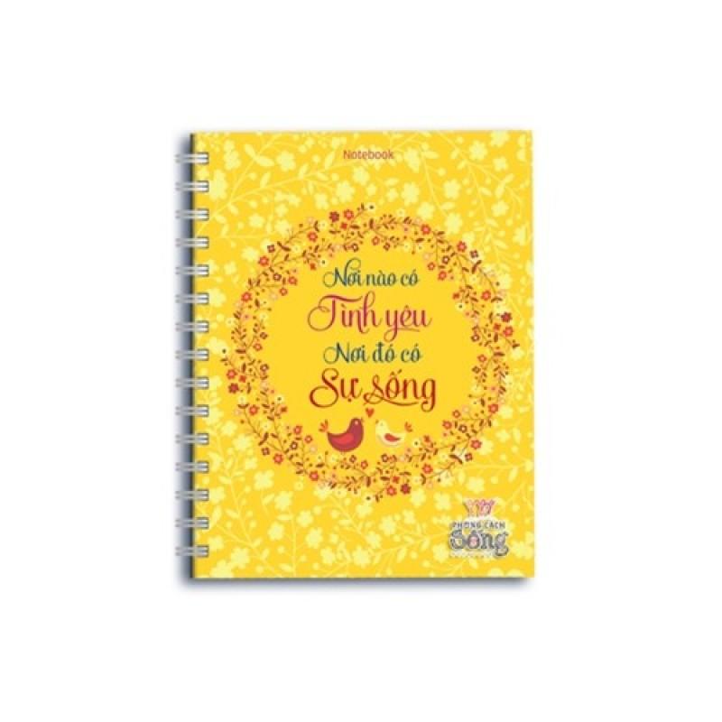 Mua Notebook: Phong cách sống - Nơi nào có tình yêu nơi đó có sự sống (PCS - 01)