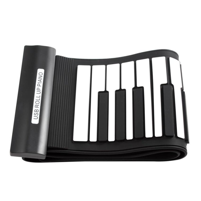 Piano Bàn Phím Cuộn Điện Tử MIDI Chuyên Dụng 61 Phím Linh Hoạt Dành Cho Trẻ Em - Quốc tế...