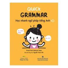 Chỗ nào bán Quick Grammar – Học Nhanh Ngữ Pháp Tiếng Anh