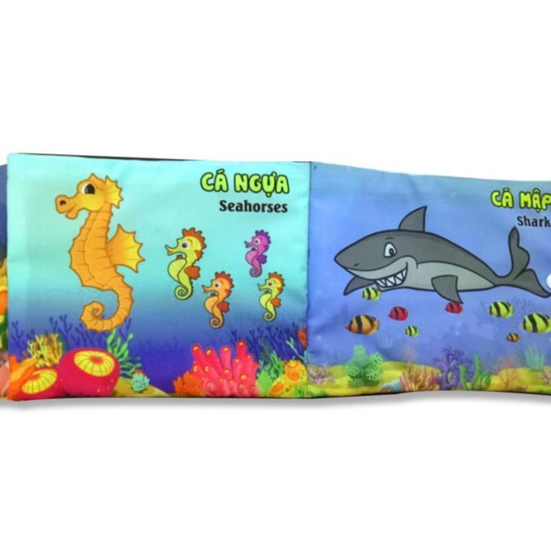 Mua Sách vải PiPo chủ để Sinh Vật Biển