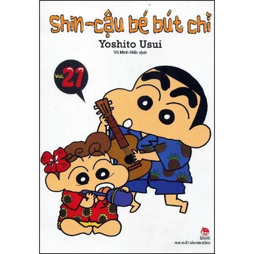 Shin- Cậu bé bút chì- Tập 21 (Truyện ngắn)