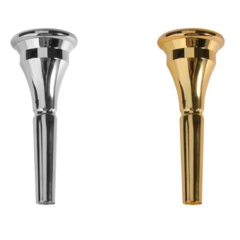 Sliver / Gold Alloy French Horn Mouthpiece for Yamaha Bach ConnKing French Horn Instrument Accessories - intl