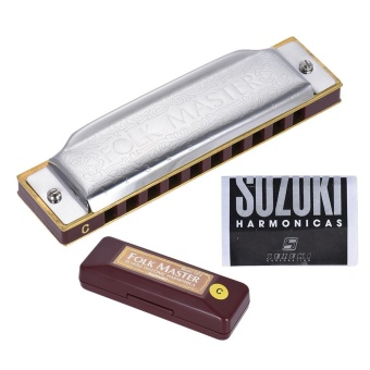 Suzuki 1072-C Folkmaster Standard 10-Hole Diatonic Harmonica Key ofC 20 Tone for Beginner Student - intl - 8555541 , OE680MEAA4TEZPVNAMZ-8875843 , 224_OE680MEAA4TEZPVNAMZ-8875843 , 377000 , Suzuki-1072-C-Folkmaster-Standard-10-Hole-Diatonic-Harmonica-Key-ofC-20-Tone-for-Beginner-Student-intl-224_OE680MEAA4TEZPVNAMZ-8875843 , lazada.vn , Suzuki 1072-C Folk