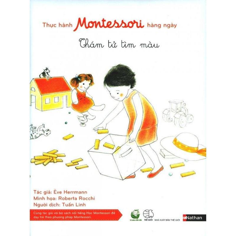 Mua Thực Hành Montessori Hàng Ngày - Thám Tử Tìm Màu - Ève Herrmann,Tuấn Linh
