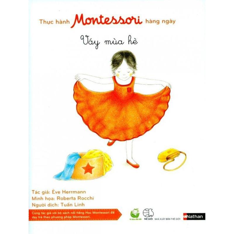 Mua Thực Hành Montessori Hàng Ngày - Váy Mùa Hè - Ève Herrmann,Tuấn Linh