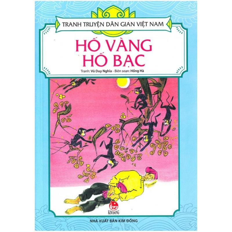 Mua Tranh Truyện Dân Gian Việt Nam - Hố Vàng Hố Bạc