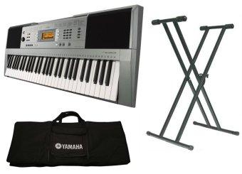 Trọn Bộ Đàn Organ Yamaha E353 + Bao đàn organ 2 lớp + Chân đàn organ kép