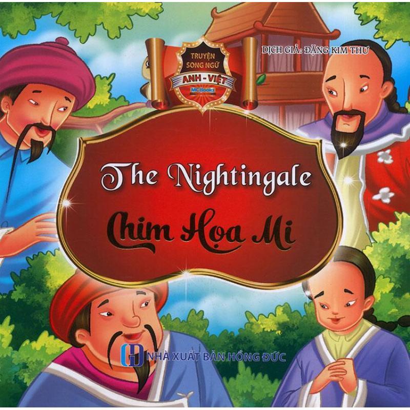 Mua Truyện song ngữ Anh Việt - The nightingale - Chim họa mi