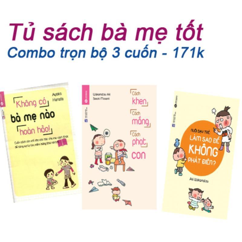 Mua Tủ sách bà mẹ tốt (Trọn bộ 3 cuốn) - 171k