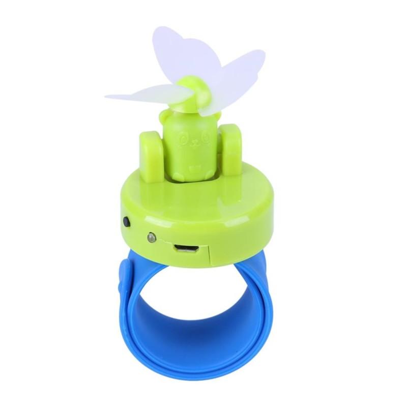 Bảng giá 1pc 360 5V Mini Portable USB Wrist Fan Cooler Lamp(Green) - intl