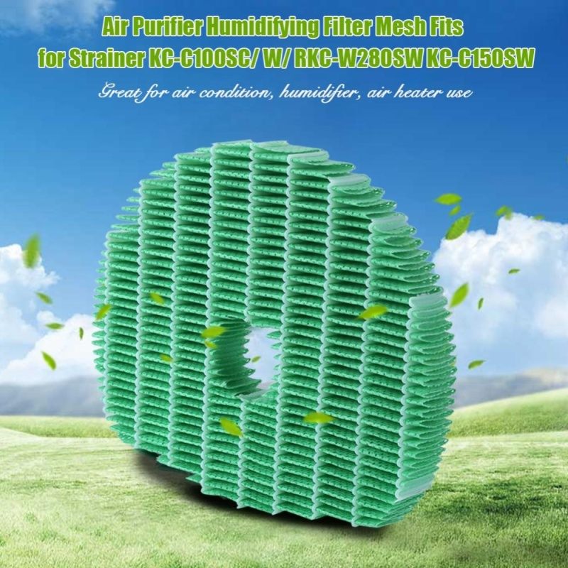 Bảng giá Air Purifier Humidifying Filter Mesh Fits for Strainer KC-C100SC/ W/ RKC-W280SW KC-C150SW - intl