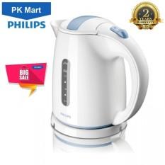 Ấm siêu tốc Philips HD4646 1.5L (Trắng) - Hàng nhập khẩu