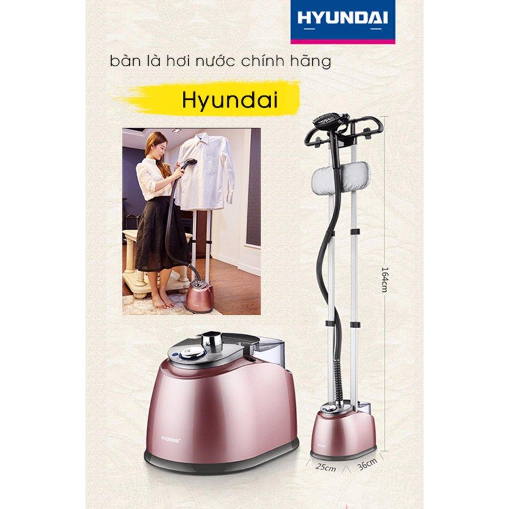 Bàn là hơi nước đứng Hyundai - 2000W Tặng Gang Tay Bảo Vệ